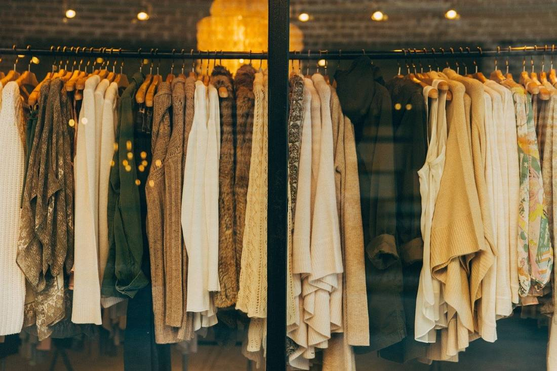 how to save money for travel - buy clothes at secondhand shops