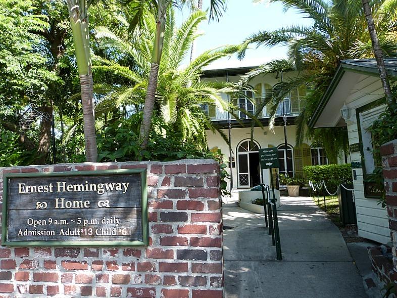 Ernest Hemingway's home in Key West Florida
