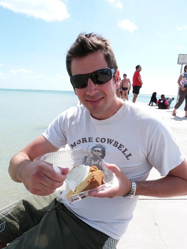 Blue Heaven key lime pie in Key West Florida