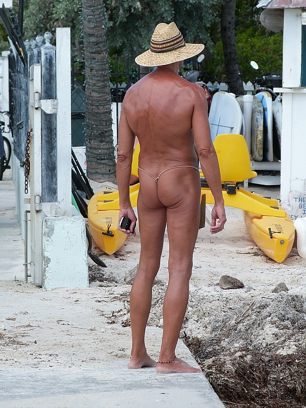 Interesting characters in Key West Florida