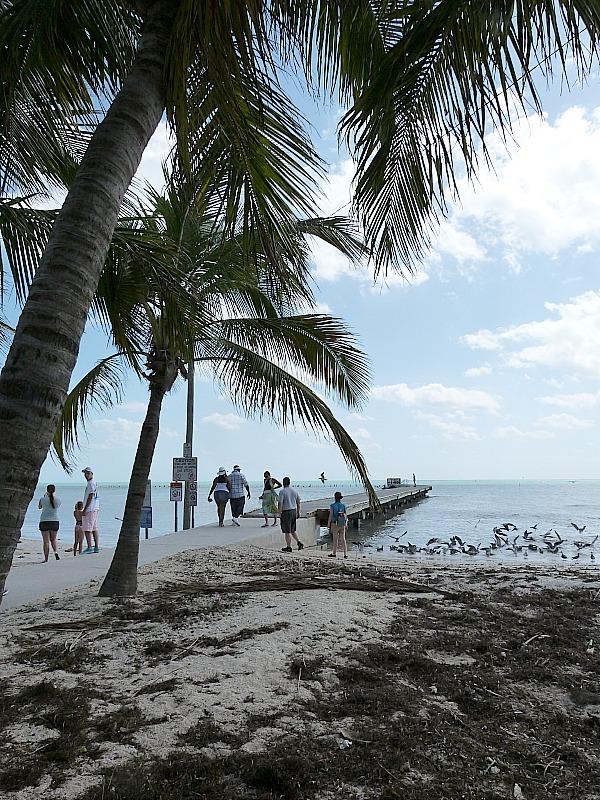 South Beach Pier in Key West Florida
