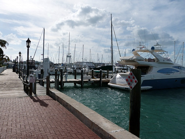 Marina in Key West Florida