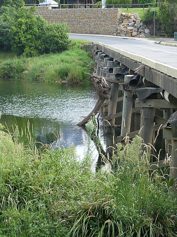 Bridge in Bellingen, Australia