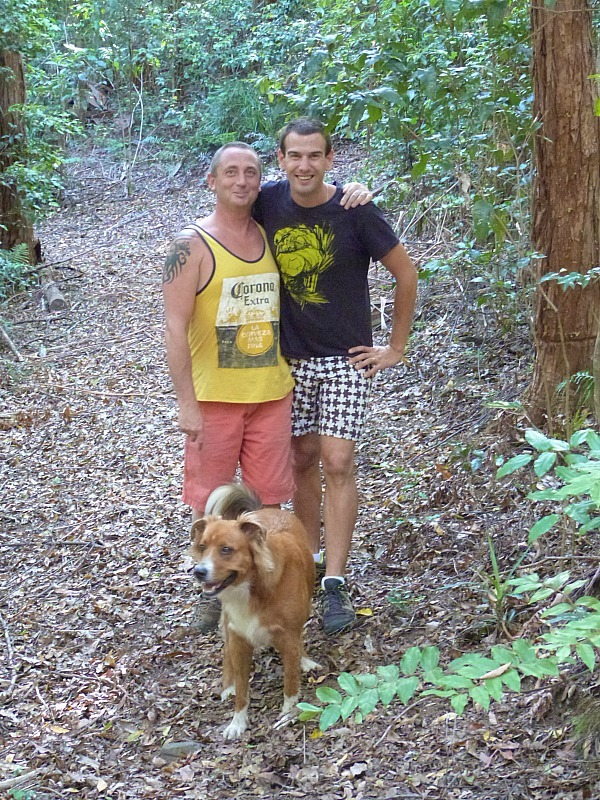 Great friends in Bellingen, Australia