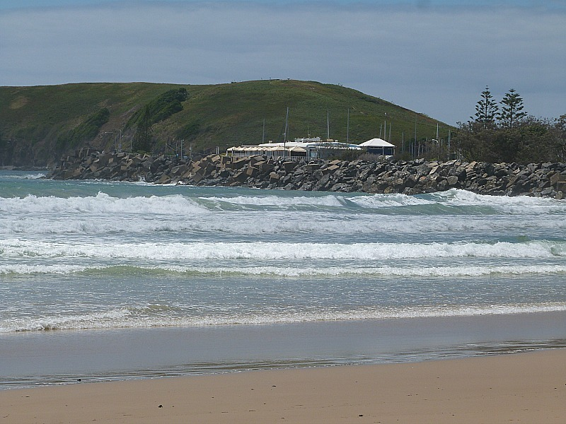 Coffs Harbour beach, Australia