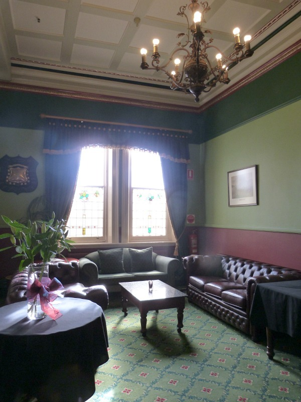 Inside the Carrington Hotel in the Blue Mountains of Australia