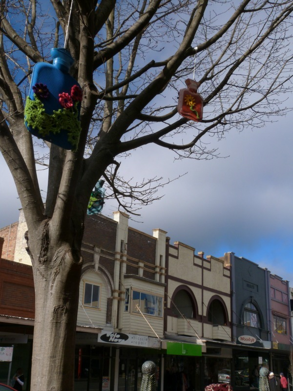 Local art work in Katoomba, the Blue Mountains