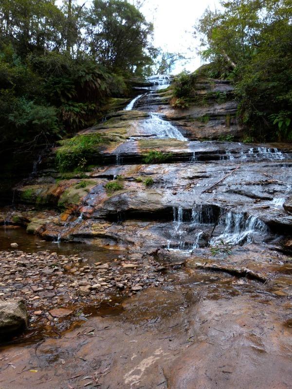 Katoomba Falls in the Blue Mountains of Australia