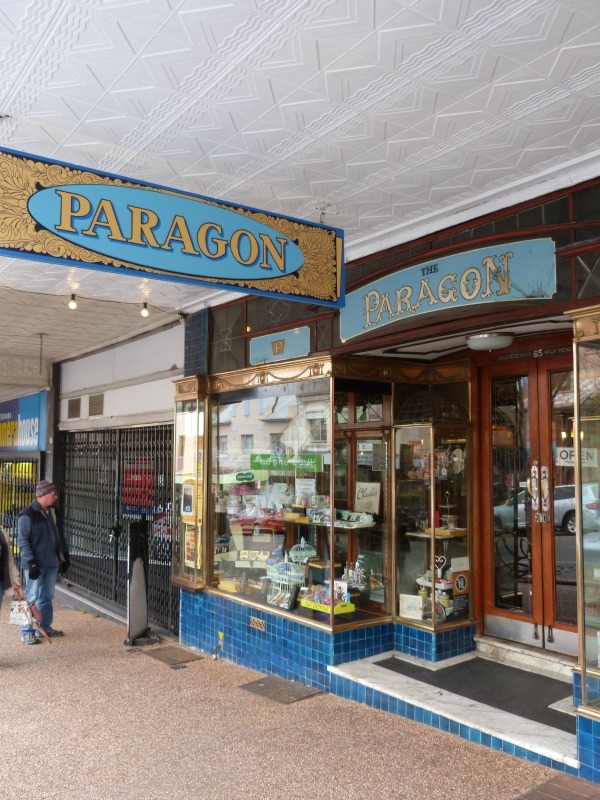 Paragon Cafe in Katoomba, the Blue Mountains