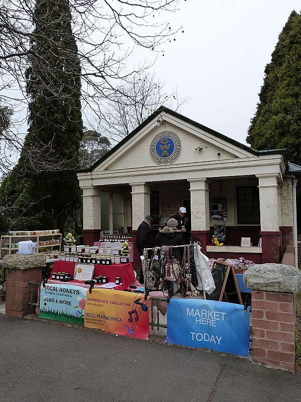 Leura market in the Blue Mountains