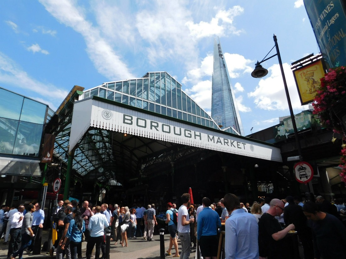 Borough Market - one of the best markets in London