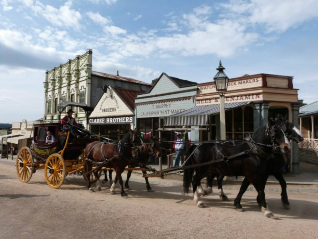 Gold Rush Days at Sovereign Hill
