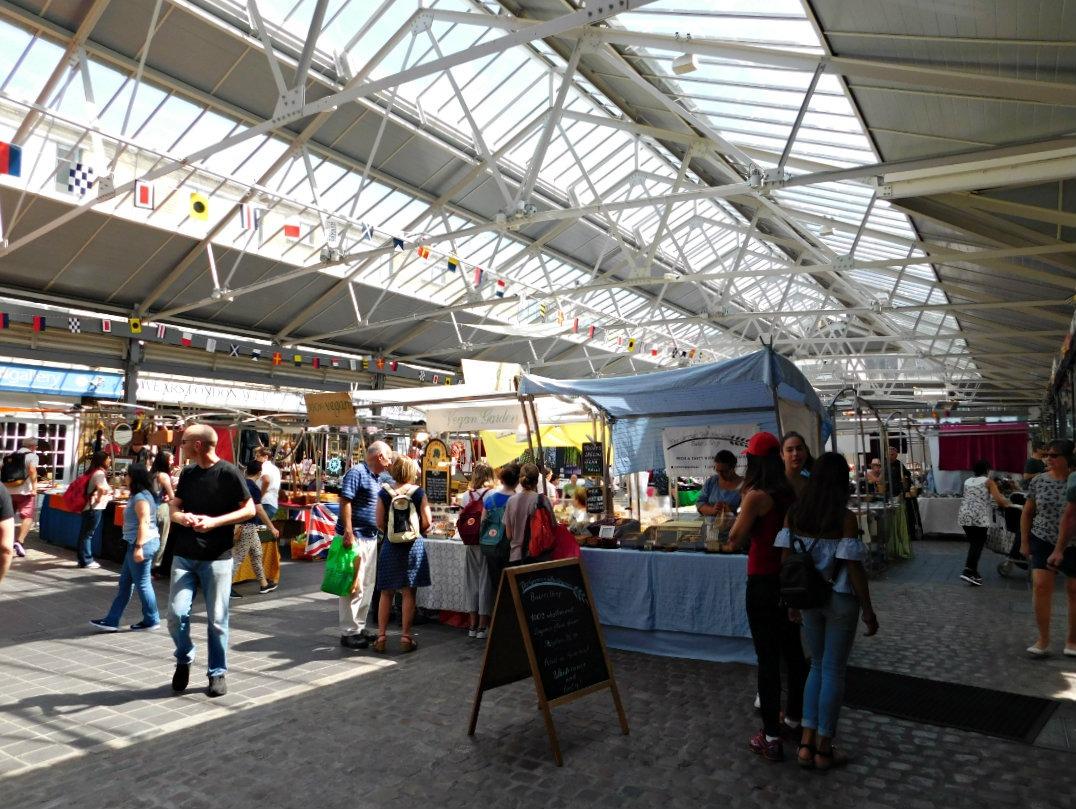 Greenwich Market - one of the best markets in London