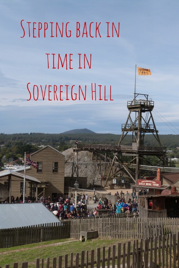 Stepping back in time in Sovereign Hill