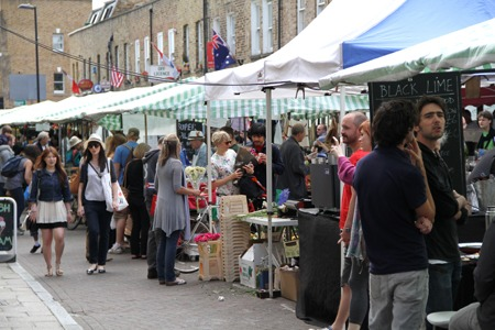 Broadway Market - one of the best markets in London