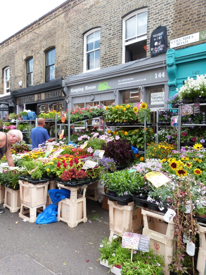 Columbia Road Flower Market 2