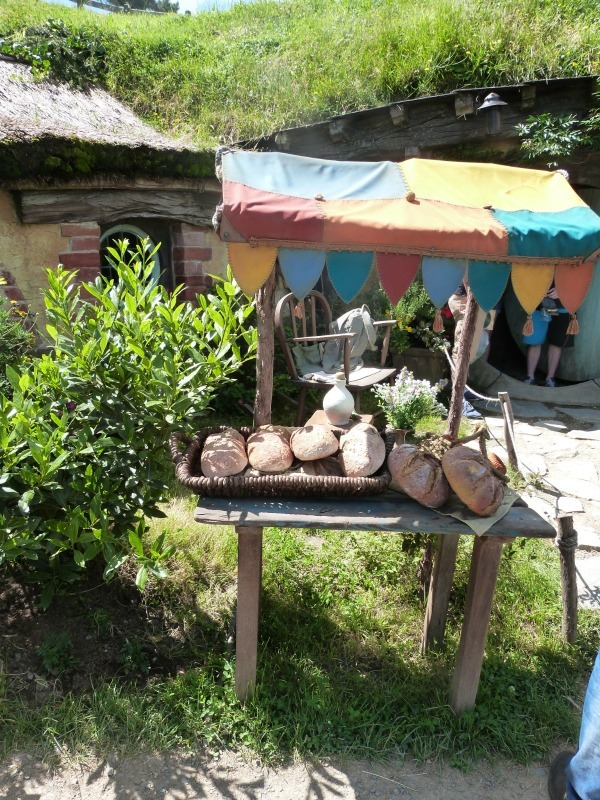 Market stall at Hobbiton New Zealand