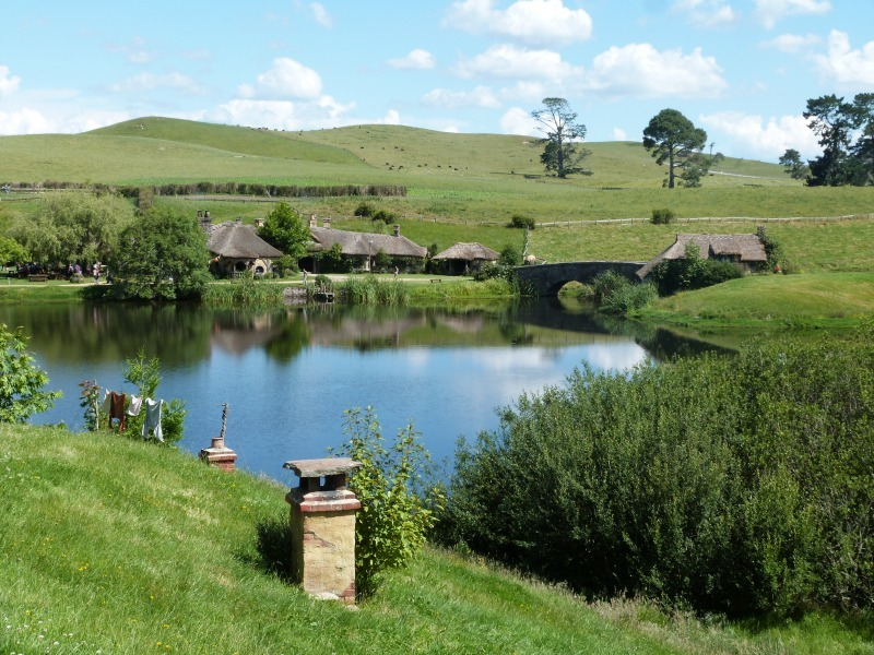 Beautiful Hobbiton New Zealand
