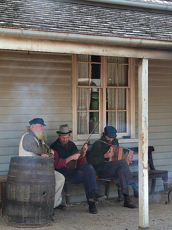 Musicians at Sovereign Hill, Victoria