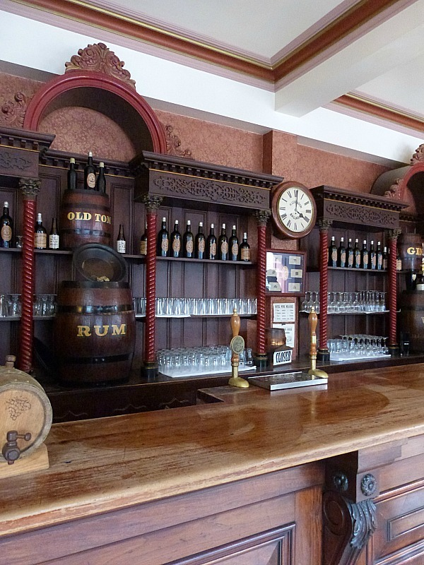 An old time bar at Sovereign Hill in Victoria