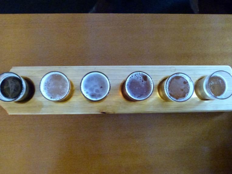 Beer tasting in the Hunter Valley of Australia
