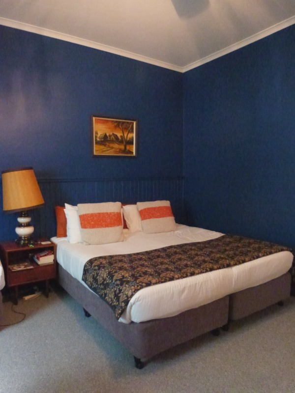 Our room at the Vine Valley Inn in the Hunter Valley