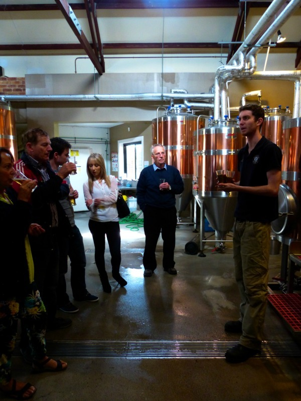 Brewery Tour at the Hunter Brewing Company in the Hunter Valley