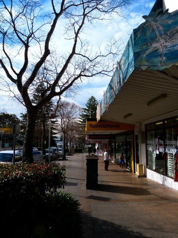 Downtown Nelson Bay in Australia