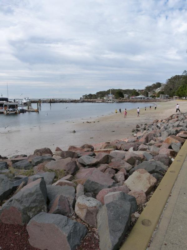 Wandering around Nelson Bay in Australia