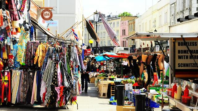 Portobello Road Market - one of the best markets in London