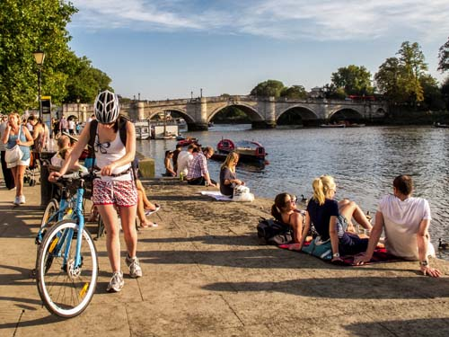Beautiful Richmond Riverside - home to the Duck Pond Market, one of the best markets in London