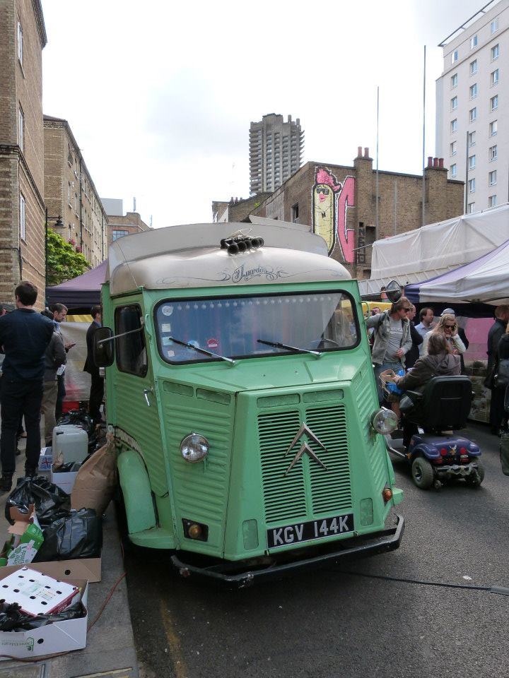 Whitecross St Market - one of the best markets in London
