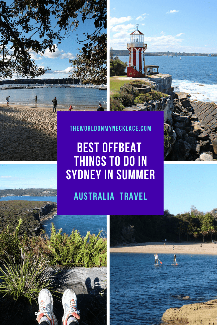 Ultimate Offbeat Summer in Sydney Bucketlist