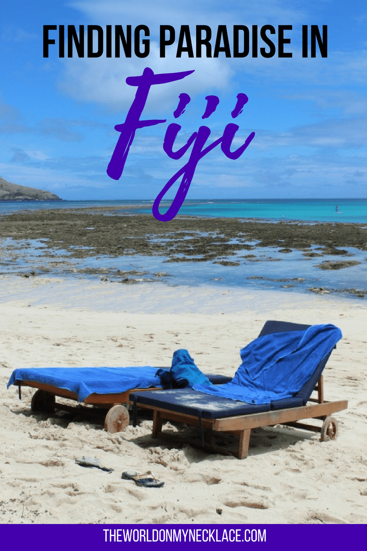 Finding Paradise on Nacula Island in Fiji | The World on my Necklace