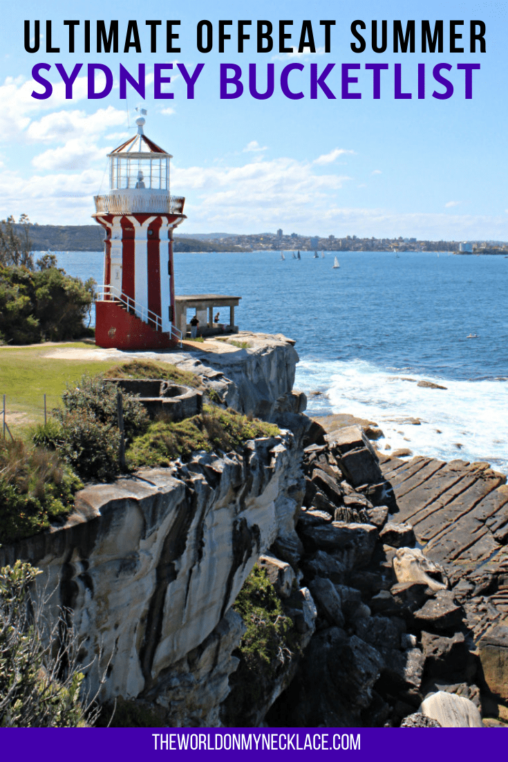 Ultimate Offbeat Sydney Bucket List