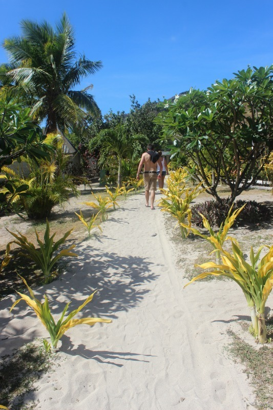 Blue Lagoon Resort on Nacula Island in the Yasawa Islands of Fiji