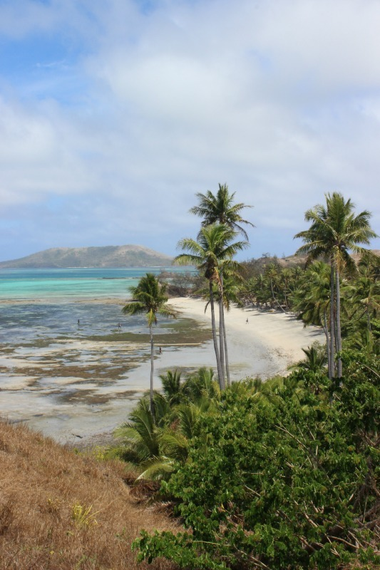 Viewpoint on Nacula Island - Hiking in the Yasawa Islands of Fiji