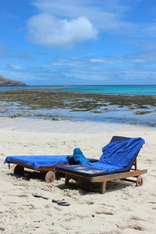 Beach at Blue Lagoon Resort on Nacula Island in the Yasawa Islands of Fiji. | The World on my Necklace