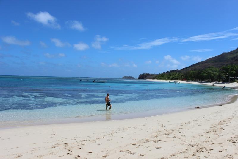 Beautiful Nacula Island in the Yasawa Islands of Fiji