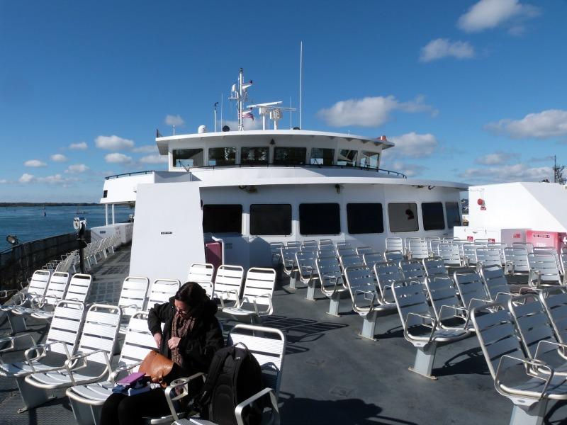 The ferry to Martha's Vineyard
