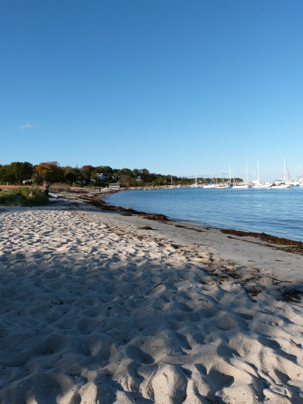 Beach at Vineyard Haven on Martha's Vineyard