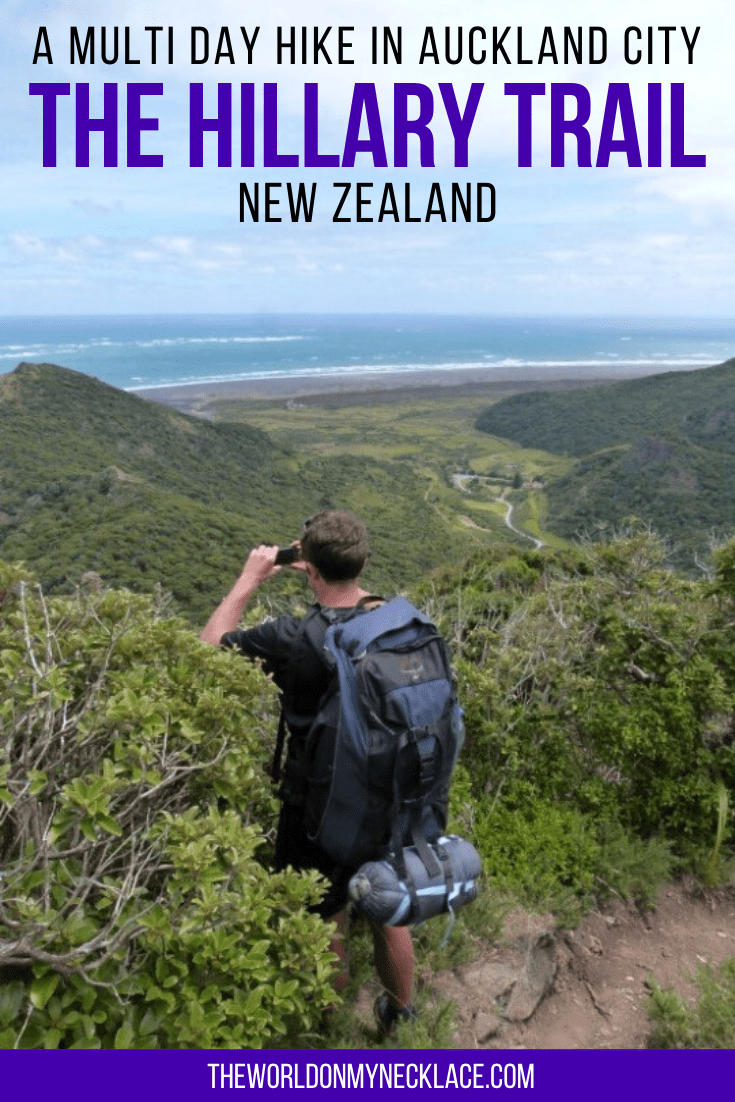 Hiking the Hillary Trail in Auckland