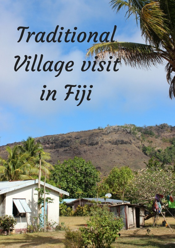 Traditional Village visit in Fiji