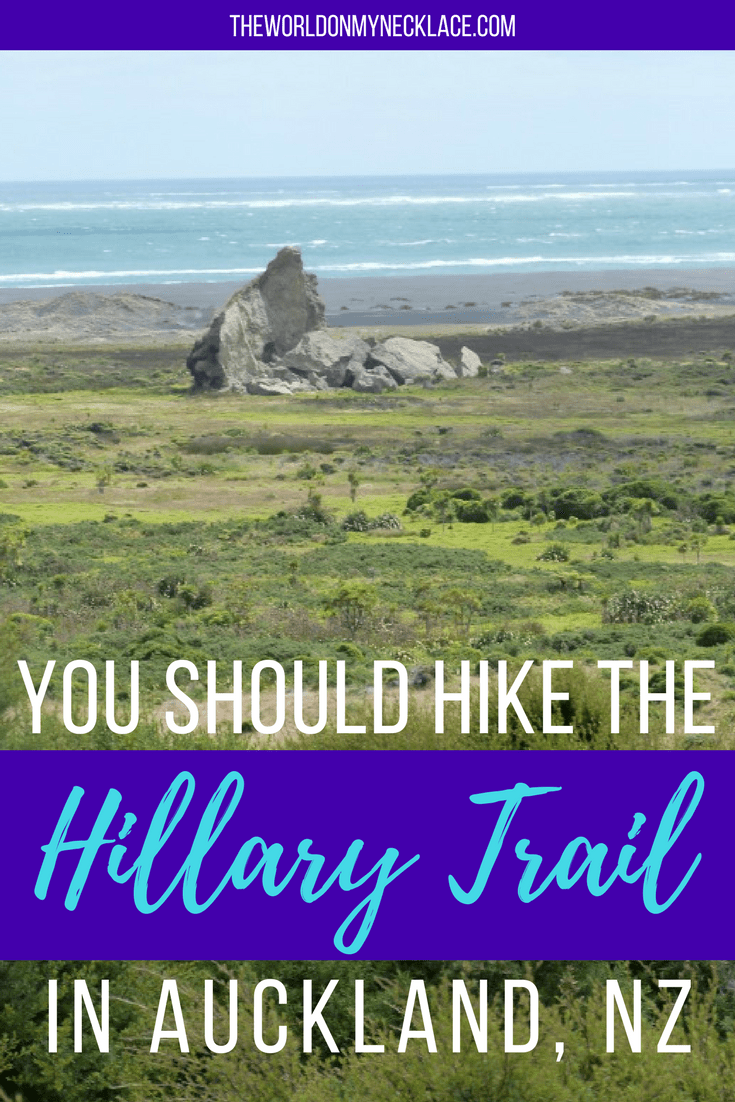 You should hike the Hillary Trail in Auckland, New Zealand