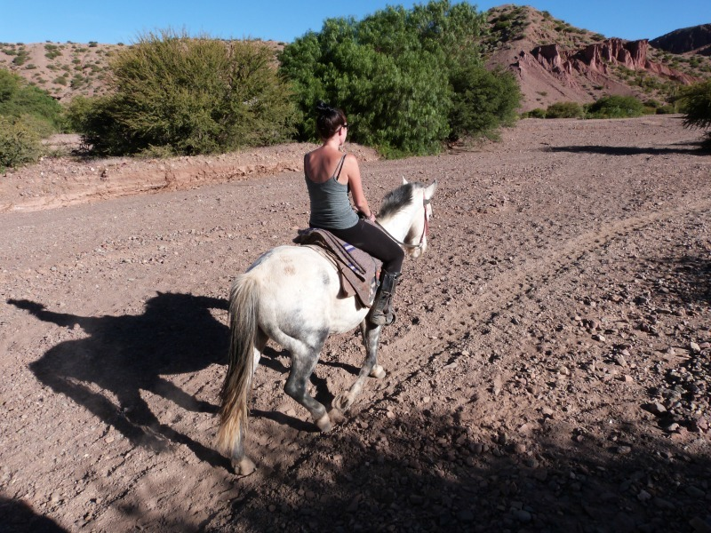 Horseriding in Tupiza in Bolivia