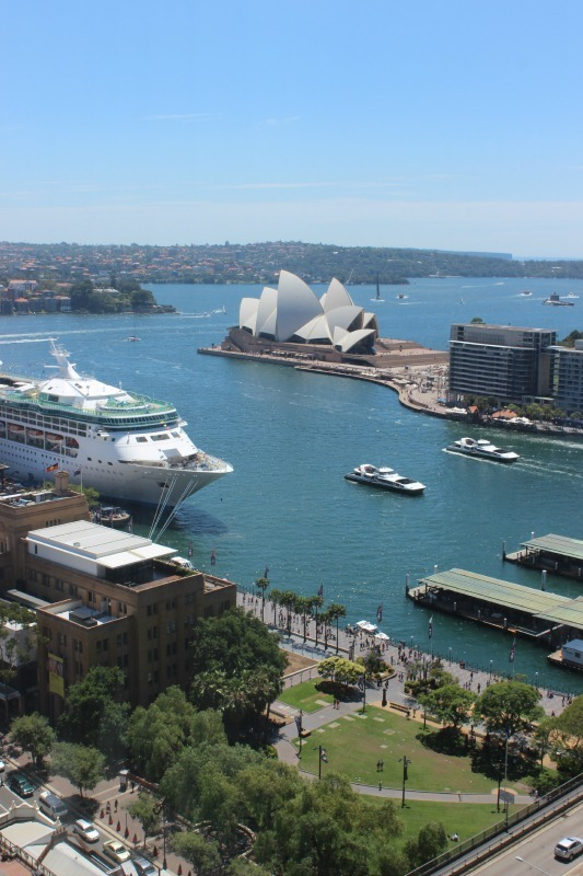 View from our Four Seasons room for our Sydney staycation