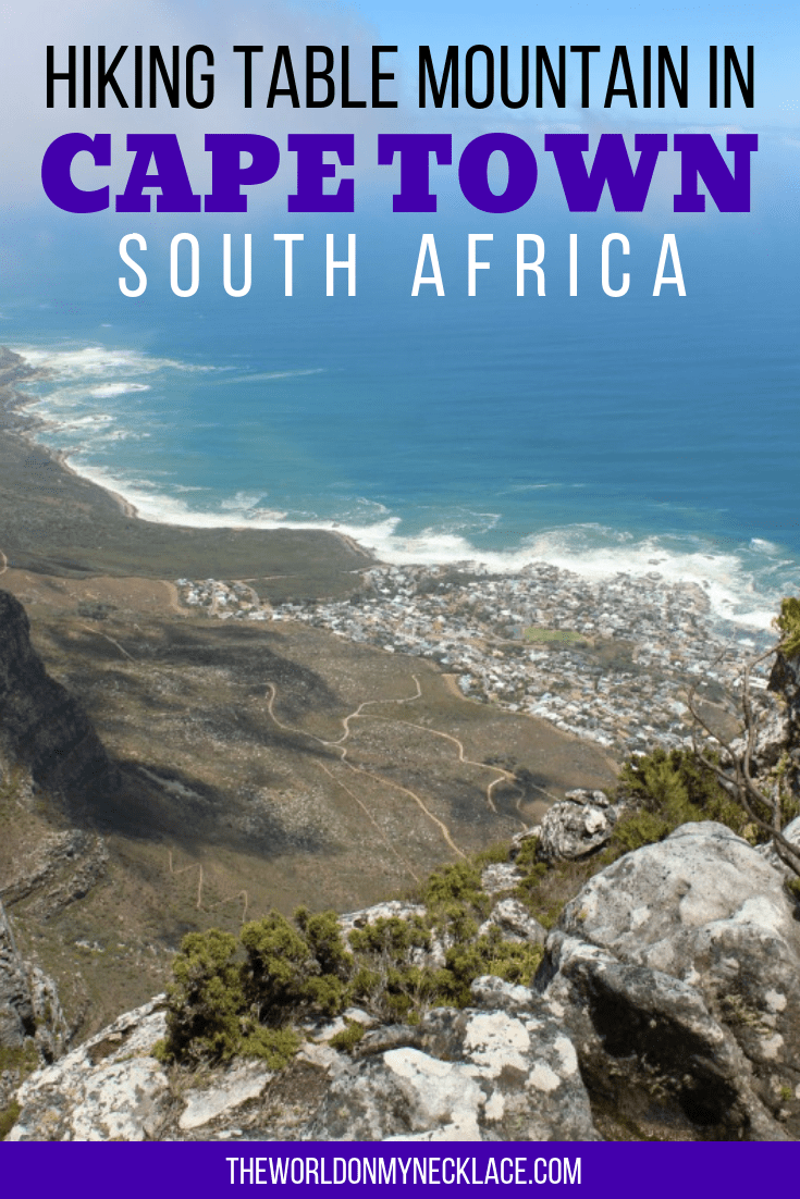 Tackling the Platteklip Gorge hike to the top of Table Mountain in Cape Town, South Africa