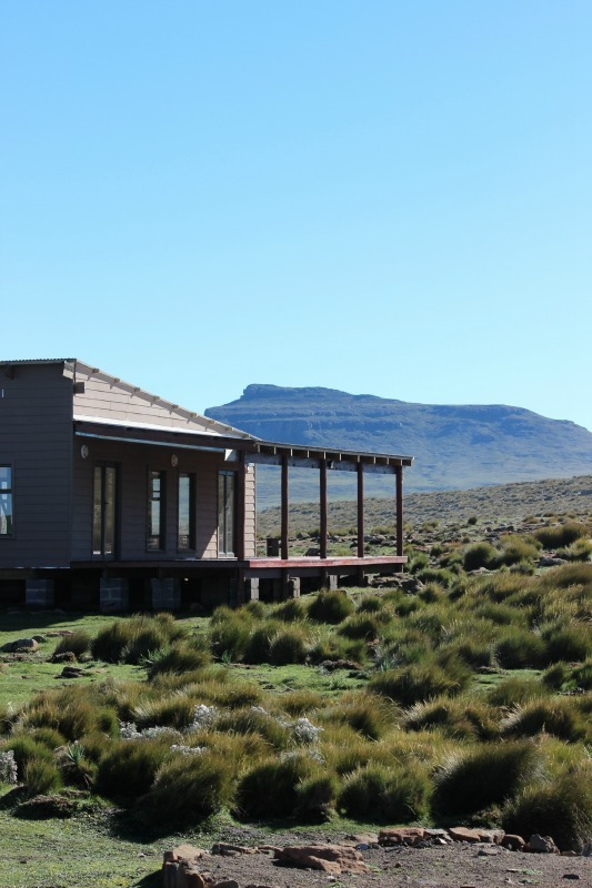 Sani Mountain Lodge in Sani Top. Lesotho