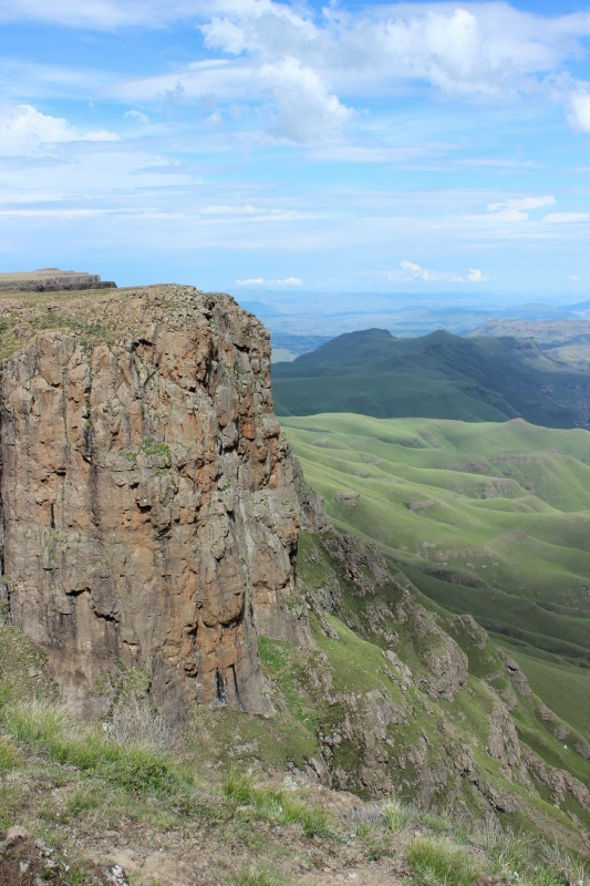 Hiking around Sani Pass in Lesotho