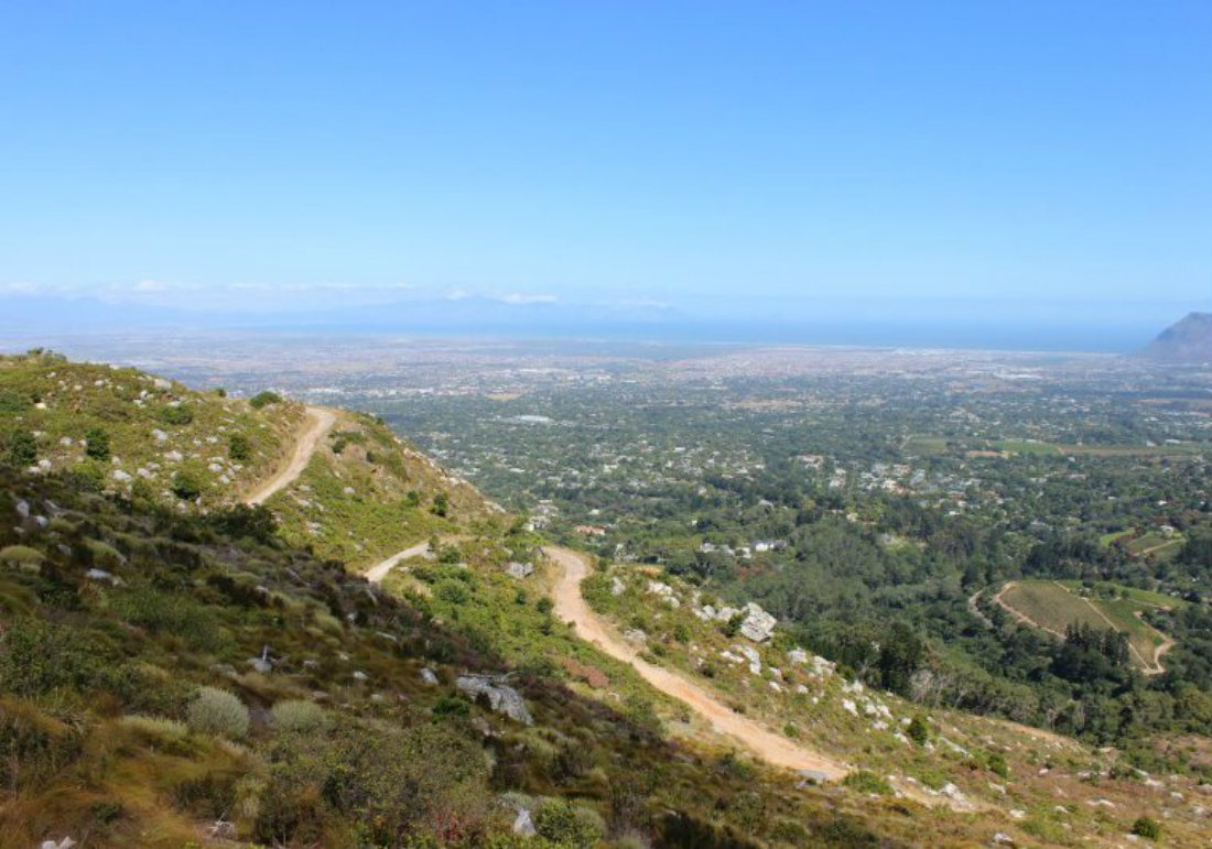 Hiking in Cape Town Mountains